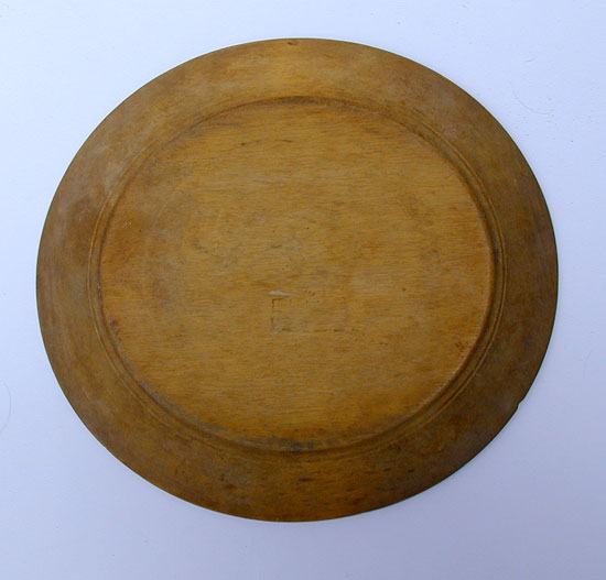 A Treenware Plate