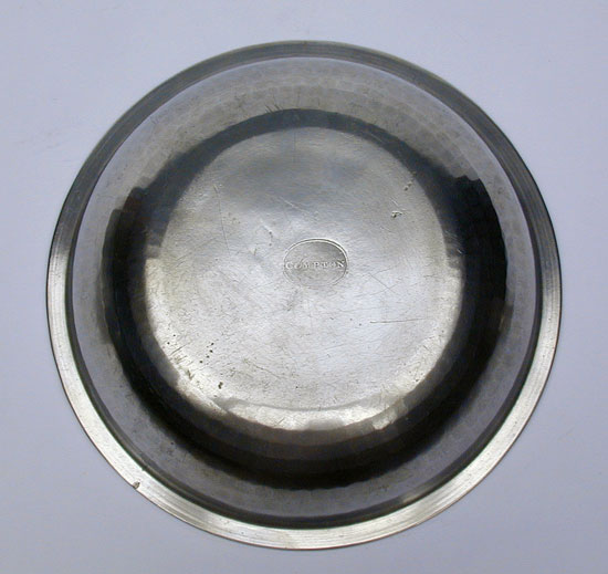 A Near Mint Compton Export Pewter Basin