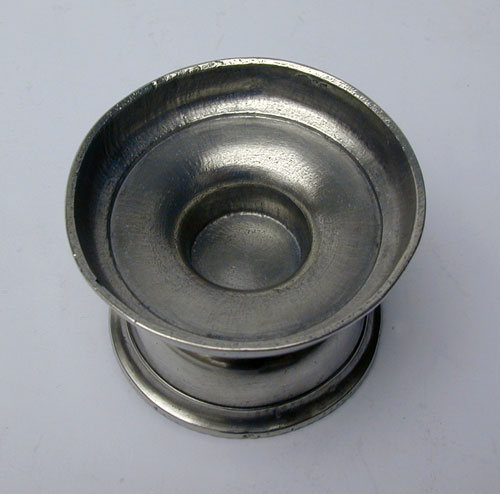 A Continental Pewter Open Salt