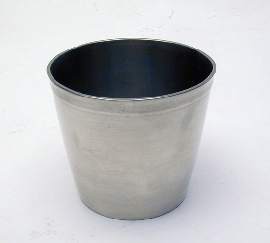An Unmarked Pewter Beaker by WilliamCalder