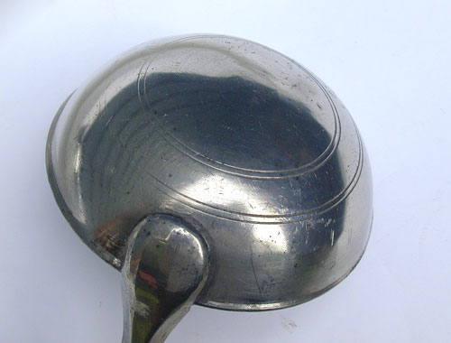 Unmarked American Pewter Ladle
