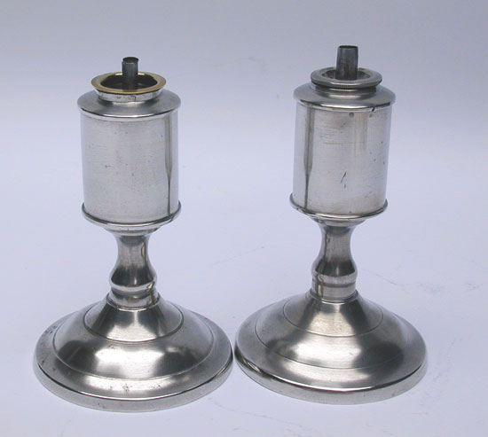 A Pair of Rufus Dunham Sparking Lamps