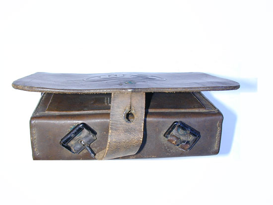 A Pattern July 1864 Civil War Cartridge Box