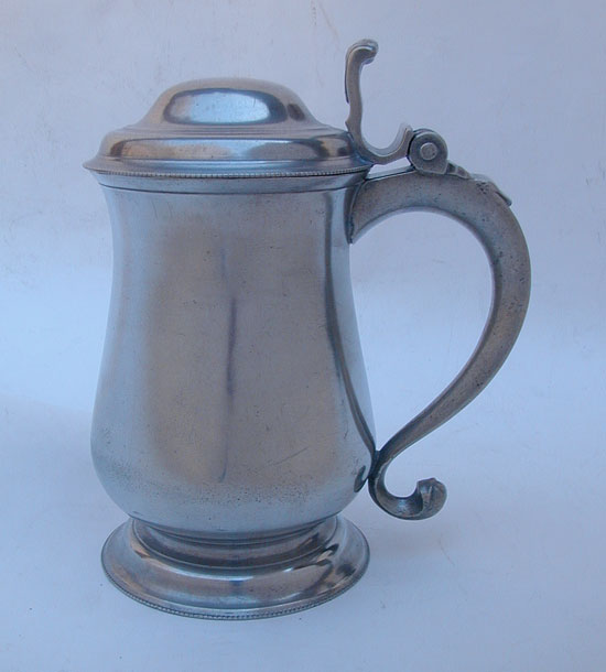 An Unmarked William Will Tulip Form Tankard