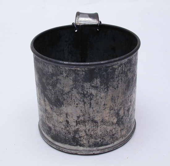 A Civil War Enlisted Man's Tinned Cup