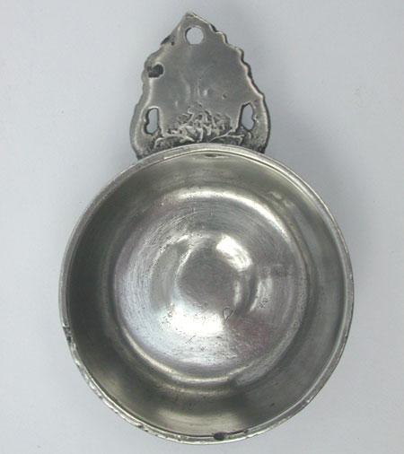 A Richard Lee Porringer with a Worn Touch