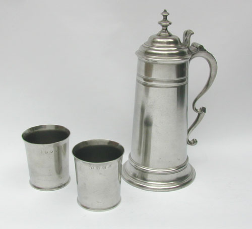 A Fine Communion Set by Thomas Carpenter, London