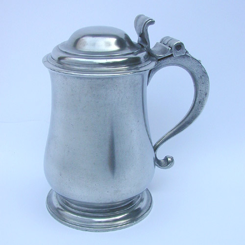 A Quart Tulip Export Tankard by TS