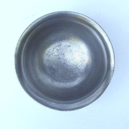 An Antique English Export Pewter Broth Bowl by John Fasson
