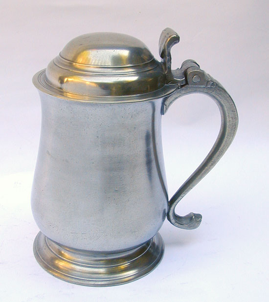 An Unmarked Quart Tulip Export Tankard