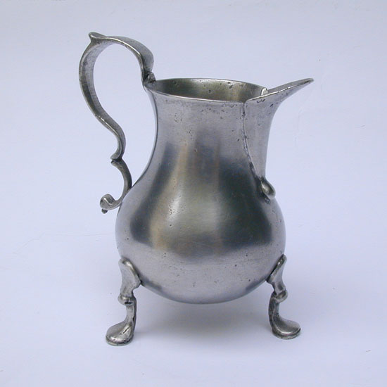 A Mid Eighteenth Century Cream or Milk Pot by Richard Pitt
