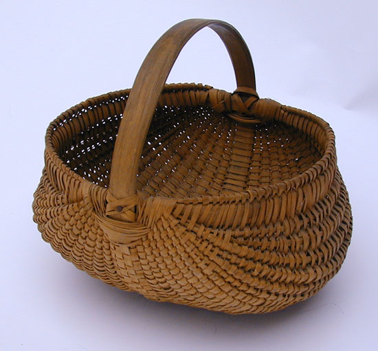 A Finely Made Buttocks Basket