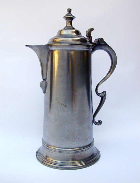 A London Spire Flagon of Late 18th Century Manufacture