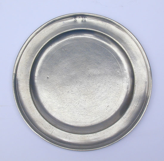 A Thomas Badger Plate