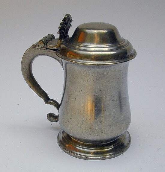 A Middle Sized Ingram & Hunt Tulip Tankard