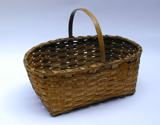 An Early 20th Century Ash Basket