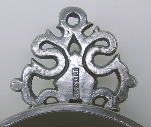 A Basin Bowl Pewter Porringer by Thomas D. Boardman & Sherman Boardman