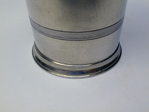 Unmarked Tall Trask Pewter Beaker